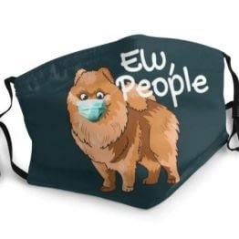 mondkapje hond ew people